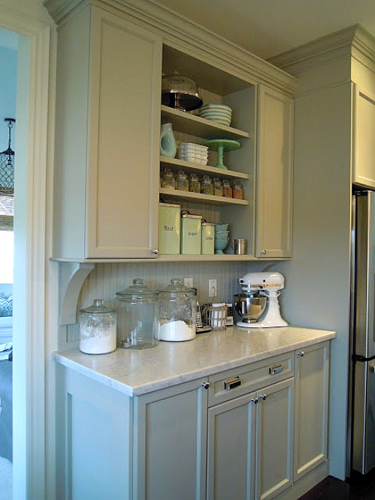 Chris Kauffmans Kitchen Built In Hutch Hooked On Houses