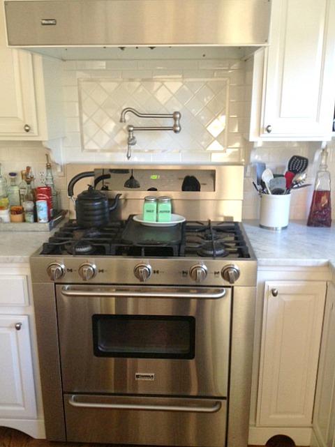 renovated kitchen in california