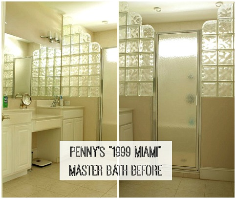 1990s Miami No More Pennys Master Bath Makeover