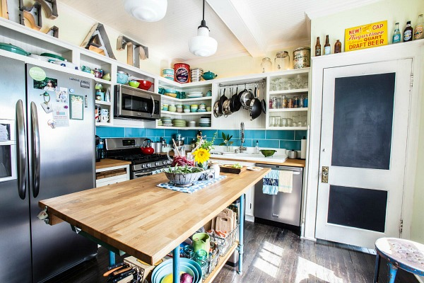 A Bungalow Kitchen In Columbus Gets A New Old Look Hooked On Houses