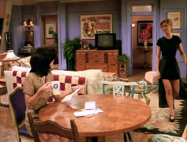 Monica S Apartment On Friends With Rachel