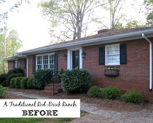 Giving A Basic Brick Ranch Curb Appeal And More Hooked