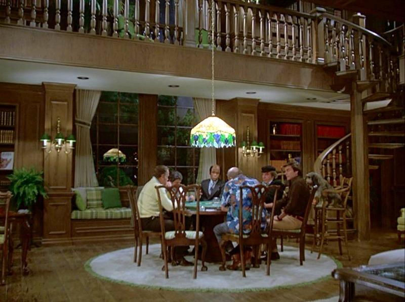 Hart to Hart living room in pilot episode