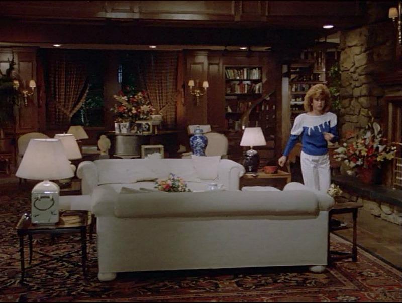 Jennifer Hart in the living room