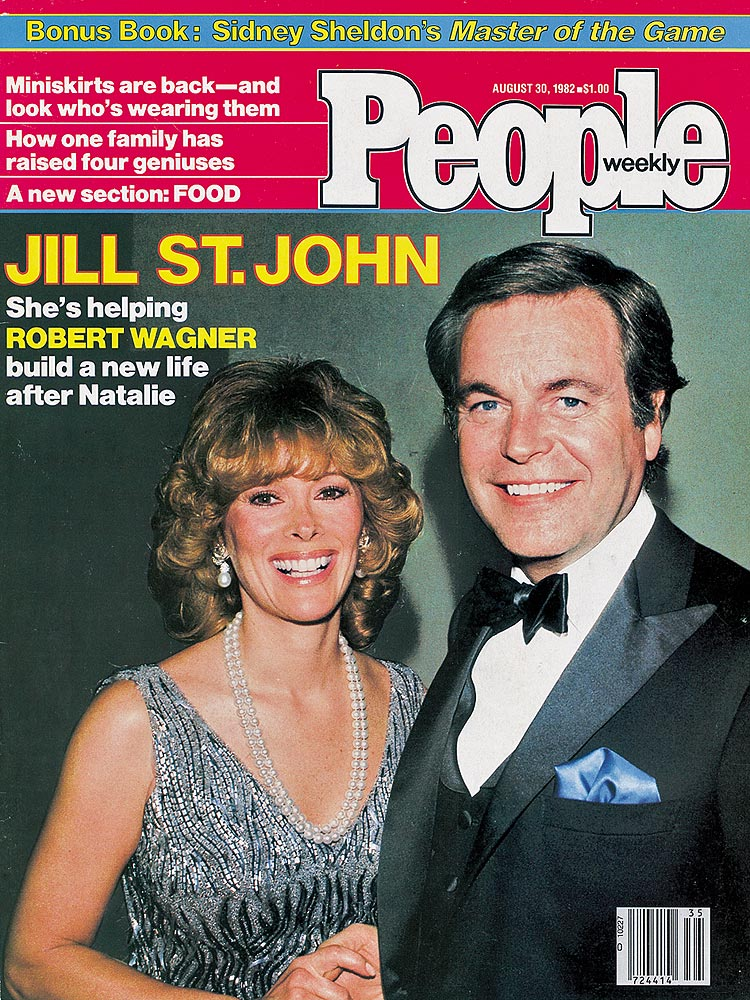 Jill St John and Robert Wagner People Cover 1982