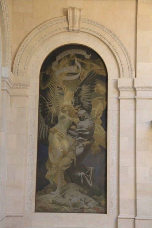 John Singer Sargent - Death and Vistory are intertwined with Germany at their feet
