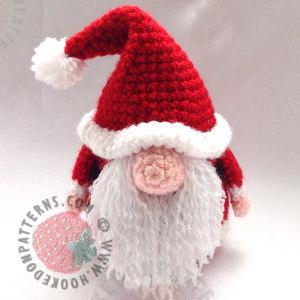 Santa Gonk Crochet Pattern