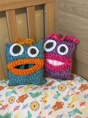 Pyjama Monsters Free Crochet Pattern