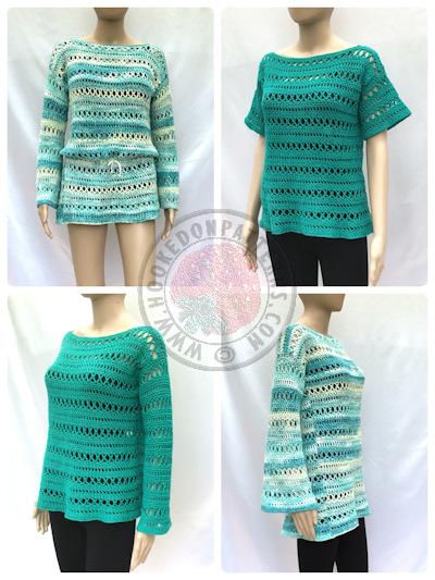 Summer Top Crochet Pattern – Anysia