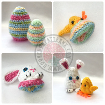 Easter Egg Crochet Pattern  Easter Egg Flips
