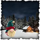Becoming Santa Gonk free crochet patterns - Elf Gonk Crochet Pattern