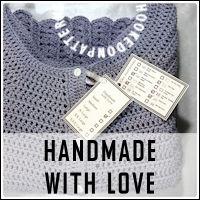 Handmade WLove free printable tag