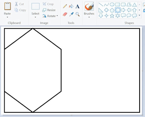 How to make price tags with Windows Paint