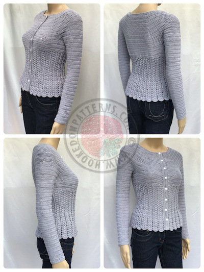 Cardigan Crochet Pattern – Kamila