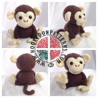 Amigurumi crochet patterns - Monkey Crochet Pattern