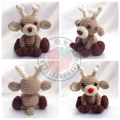 Reindeer Crochet Pattern - Noel - Hooked On Patterns