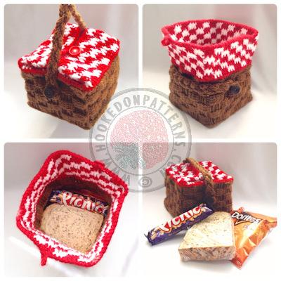 Picnic Basket Crochet Pattern