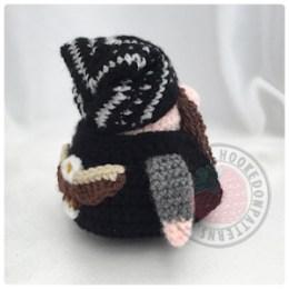 Biker Gonk free crochet pattern