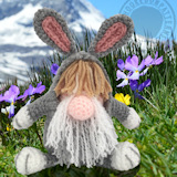 I Love crochet Hooked On Patterns Bunny