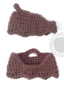 Caveman doll free crochet pattern