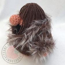doll coat free crochet - Christmas Eve Gonk Amigurumi Crochet Pattern