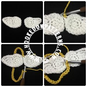 Angel wings crochet pattern