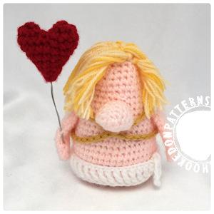 Cupid Gonk free crochet pattern