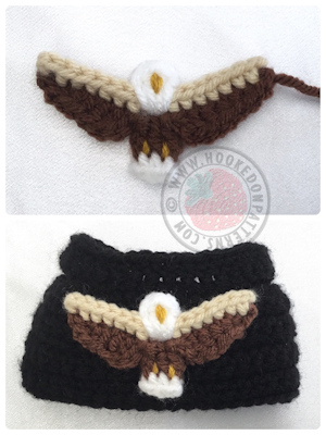Eagle free crochet pattern