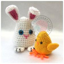 Bunny chick Crochet Pattern