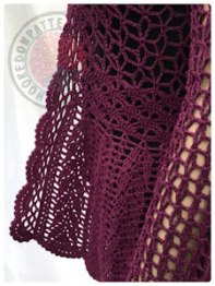 Flory Lace Cardigan Crochet Pattern