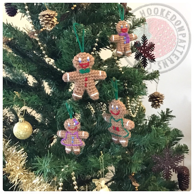 Gingerbread Man Free Crochet Pattern - Crochet Christmas Patterns