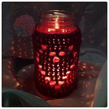 Jar Cover Crochet Pattern