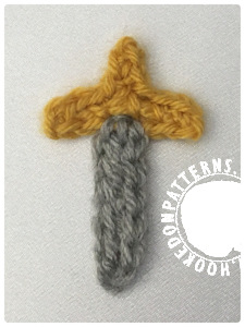 Sword Free Crochet Pattern