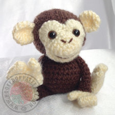 Monkey Crochet Pattern Maurice
