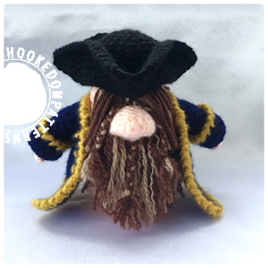 Pirate gonk free crochet pattern