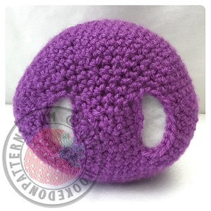 Purple People Eater Crochet Pattern