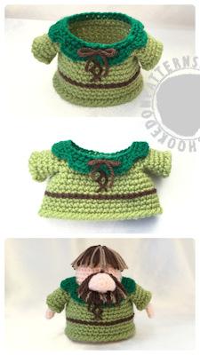 Robin-Hood Gonk free crochet pattern