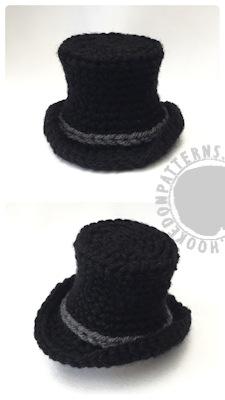 Top Hat free crochet pattern