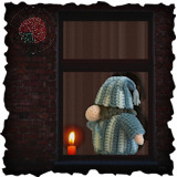 Becoming Santa Gonk free crochet patterns - A Gonks Journey Sleepy Gonk