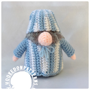 Sleepy Gonk free crochet pattern