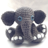 Tembo the Elephant Crochet Pattern