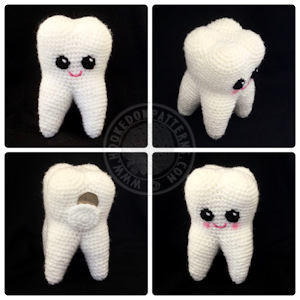 Free Tooth Fairy Crochet Pattern