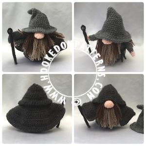 Wizard Gonk Free Crochet Pattern