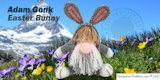 Bunny Gonk Free Crochet Pattern