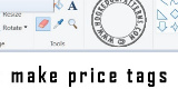 Make price tags from home