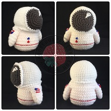Astronaut Gonk Outfit Crochet Pattern