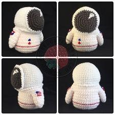 Astronaut Gonk Outfit Crochet Pattern