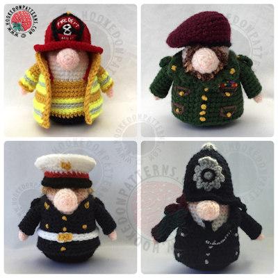 Gonk Heroes - Gonk Heroes crochet pattern