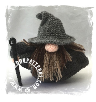 Wizard Gonk Free Crochet Pattern – Doll Clothes