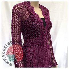 Lace Cardigan Crochet Pattern